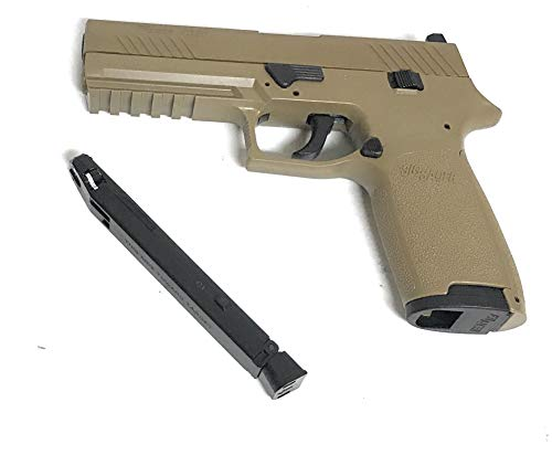 SIG Sauer P320 CO2 Coyote Tan Pistol, Metal Slide (Sig 1911 Holsters Sauer)