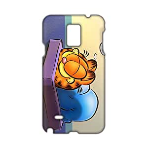 Unique Garfield durable 3D Phone Case for Samsung Galaxy Note4