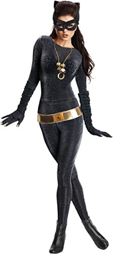 Rubies-Costumes-Womens-Deluxe-Catwoman-Costume-Black-Small