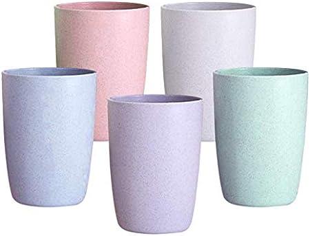 ❤ EXTREMADAMENTE SEGUROS, DURADEROS Y RESISTENTES, los vasos de vaso reutilizables irrompibles hecho