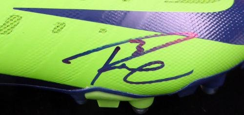 Russell Wilson Autographed Signed Nike Cleats Shoes Seahawks Rw Holo 124633 Autographed NFL Cleats