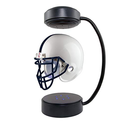 Penn State Nittany Lions NCAA Hover Helmet - Collectible Levitating Football Helmet with Electromagnetic Stand ()