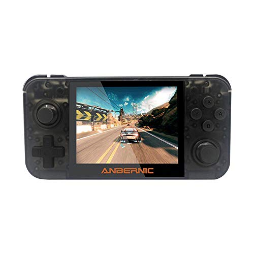 3.5 Inch Game - combnine RG350 IPS Retro Games, 3.5 Inch 16GB Upgrade Handheld Game Console Music E-Books Game Console
