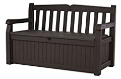 Want to turn your yard into a garden paradise? The 70-gallon Eden bench from Keter is a great place to start. At first glance, the Eden bench looks like a clean, contemporary wood-style bench with comfortable seating for two adults. But hidde...