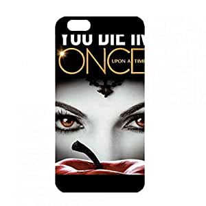 Once A Upon Time Pattern Phone Custodia Cover For iPhone 6Plus/iPhone 6S&Plus(5.5inch) USA TV Series Phone Custodia