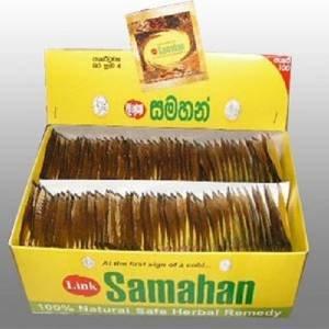 500 X Samahan Ayurveda Ayurvedic Herbal Tea Natural Drink for Cough & Cold by samahan (Image #3)
