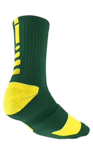 Nike Elite Crew Sock Yellow/Green L