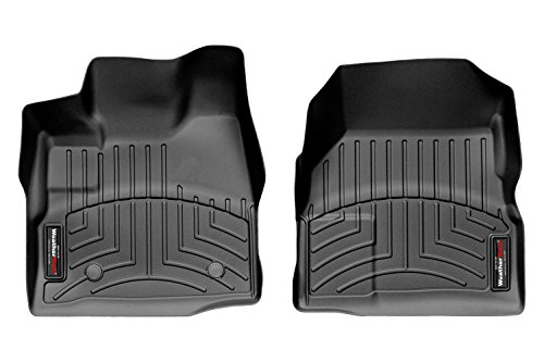 Equinox Weathertech Floor - WeatherTech DigitalFit™ Molded Floor Liners (1st Row, Black) 443461