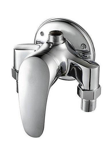 Surface Mounted Brass Shower Faucet Valve Hot And Cold Taps Showers Switch Angle Valve