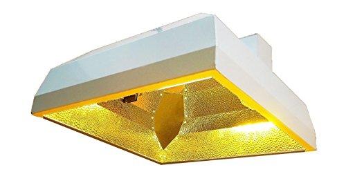 Reflector System Deep - Oppolite 400W/600W1000W DE Double Ended MH/HPS Grow Light Reflector Hydroponic Grow Light System (DE Deep Reflector)