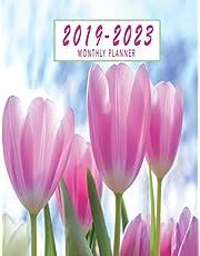 2019-2023 Monthly Planner: 2019-2023 Five Year Planner Monthly Schedule Organizer | 60 Month Calendar | 8.5 x 11 Planner At A Glance