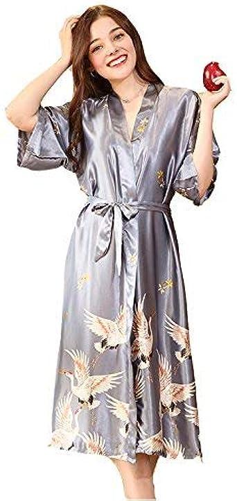 Femmes demoiselle d/'honneur Robe de Chambre Kimono Robe de Chambre Femme Mariage Robe De Chambre Peignoir Ceinture