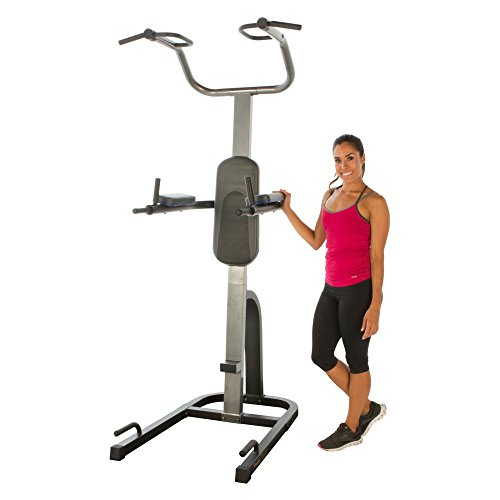 Fitness Reality PT 1275 High Weight Limit Strength Training Power Tower