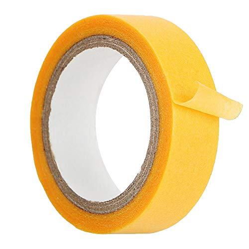 12mm X 5m Car Paint Scratch Repair Protective Tape Paint Spray Masking Paper Tape Paint Care Tools Auto Care Repair Accessories