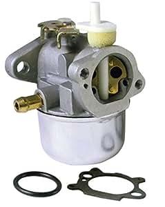 LASER Carburetor Replacement For Briggs & Stratton 499059 & 497586
