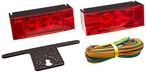 Blazer-C7280-LED-Rectangular-Low-Profile-Submersible-Trailer-Light-Kit