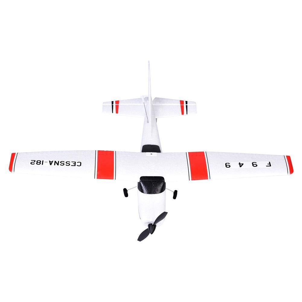 Avion RC Jouet F949 RC Planeur Mod/èle Davion T/él/écommande Jouet 2.4G Serveur de Taille Moyenne /à Trois Voies Aile Fixe Mod/èle davion Jouet Avion Offrez /à Votre Enfant une vie plus Amusante.