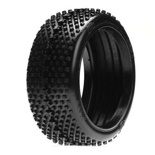 Losi LOSA7763S 1/8 XBT Buggy Tires with Foam, Silver (2)