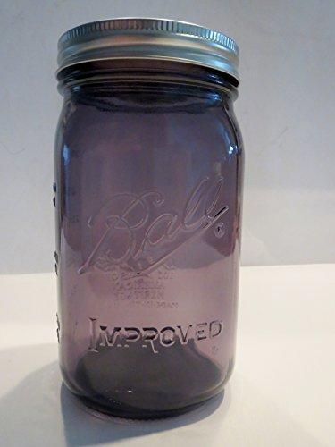 purple ball jars heritage - 6