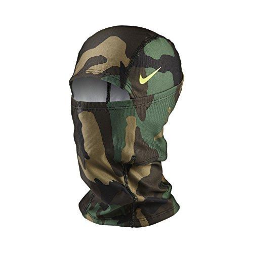 Nike Unisex Pro Combat Hyperwarm Hydropull Hood, Camo Green