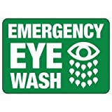 SN-24''Hx36''W-RAH-STD-EMERGENCY EYE WASH