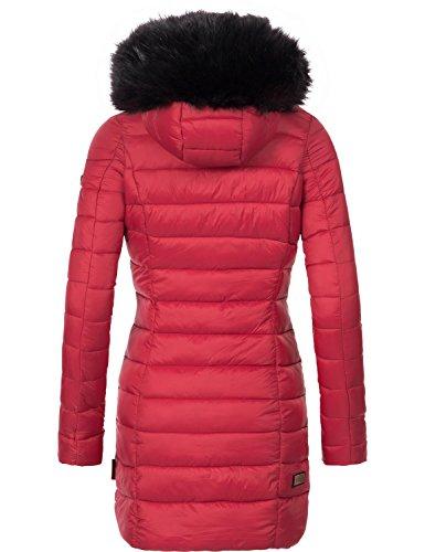 Xs xxl Colores Para De Abrigo Invierno 13 Mujer Red Marikoo Rose 0n8gxqz10