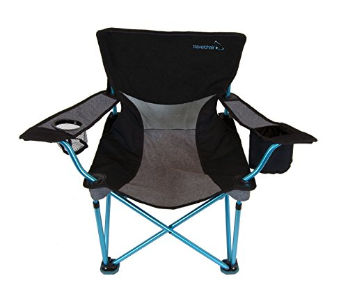TravelChair Frenchcut Aluminum Chair, Perfect for Beach, Camp and Concerts, Blue