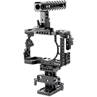 SmallRig Camera Accessory Kit for Sony A7 II/ A7R II/ A7S II Camera With Cage, Nato Rail, Nato Handle, Quick Release Riser System - 2015