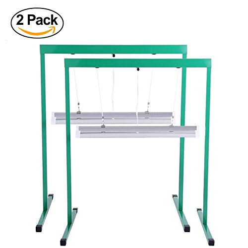 Ipower 2 Pack 24w Feet T5 Fluorescent Grow Light Stand Rack For Seed