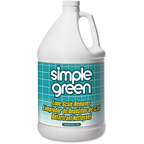 Simple Green 50128CT Lime Scale Remover,Deodorizer,1Gal, 6/CT, Wintergreen Scent ()