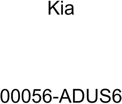 Remote Start System 00056-ADUS6 Kia Genuine