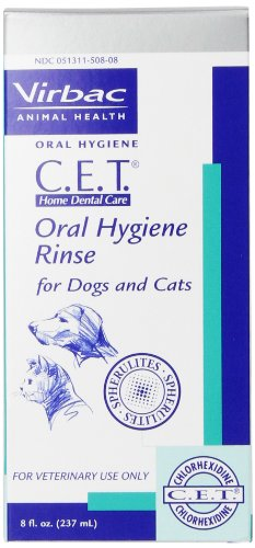 CET Oral Hygiene Rinse 8 Ounce