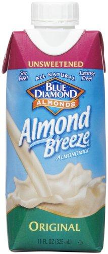 Blue Diamond Almond Breeze - Unsweetened Original - 11 oz - 12 pk
