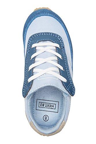 next Niños Zapatillas retro modernas (Niño pequeño) Estándar Azul
