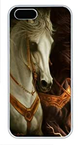 3D horse 3 luxury For Iphone 6 Phone Case Cover PC White for For Iphone 6 Phone Case Cover