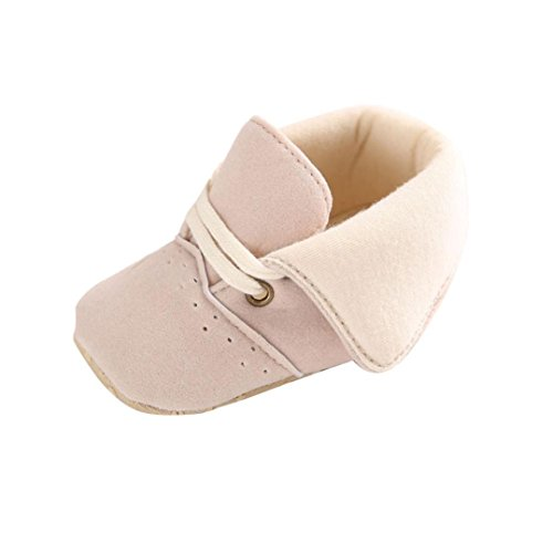 Clode® Toddler Jouets mous Sole Baby Girl Boy Prewalker Chaussures (12 ~ 18mois)