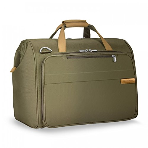 Briggs & Riley Baseline Framed Weekender, Olive by Briggs & Riley
