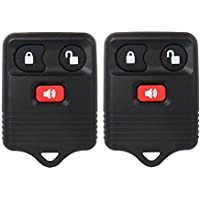 Big-Autoparts 2 Pack Key Fob Car Keyless Entry Remote...
