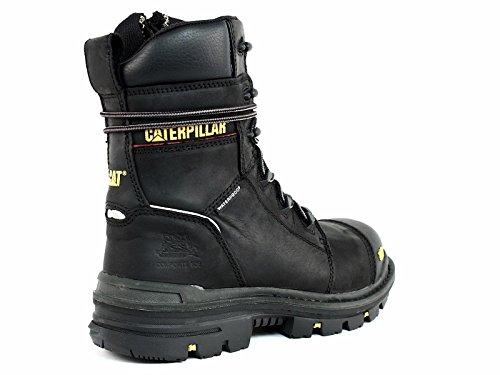 Caterpillar Men's Mortise 8'' Waterproof Work Boot Composite Toe Black 11.5 D(M) US by Caterpillar (Image #2)