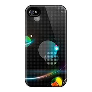 Hot ZeS2839CQjx Retro Tpu Case Cover Compatible With Iphone 4/4s