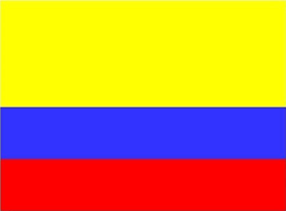 AZ FLAG Bandera de Colombia 90x60cm Bandera Colombiana 60 x 90 cm