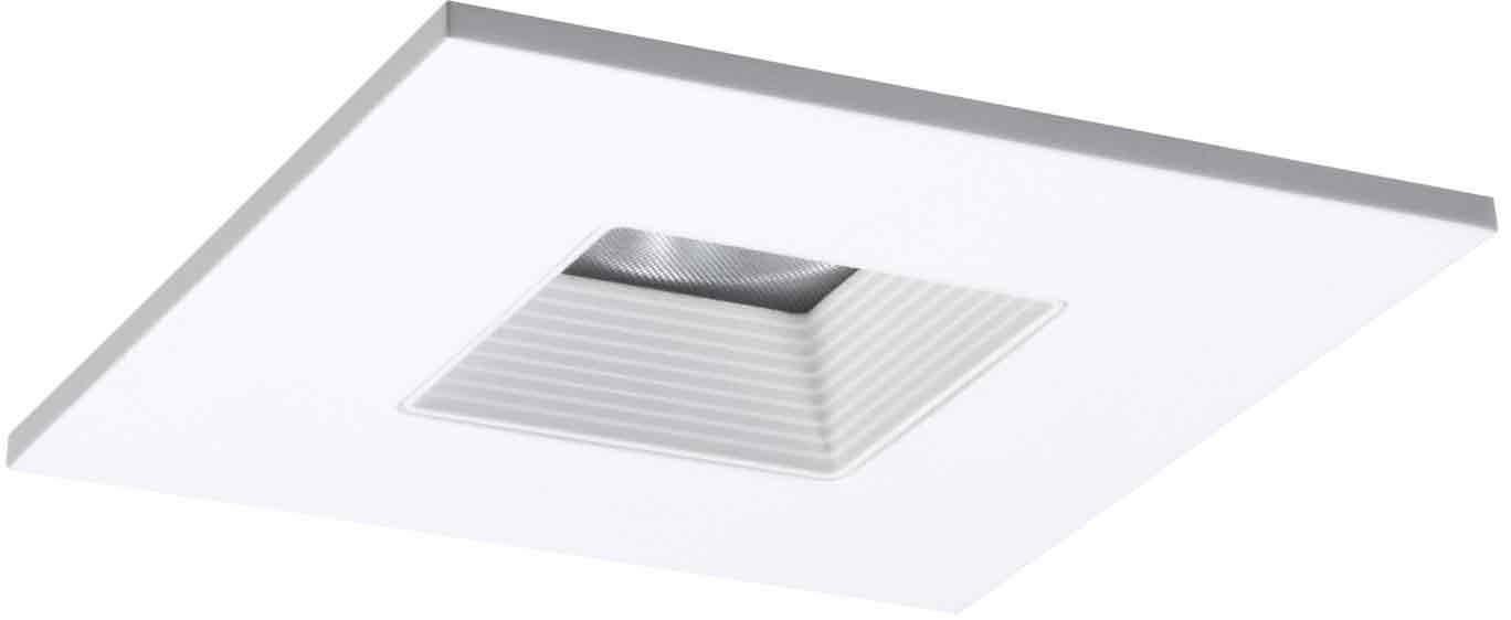 halo recessed tls408whwb 4 inch led trim square with solite