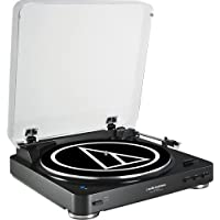 Deals on Audio-Technica AT-LP60BK-BT Turntable + Free $50 Dell GC