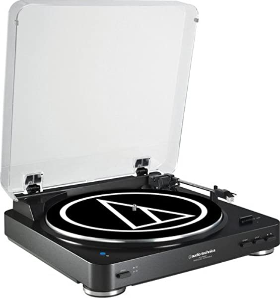 Amazon.com: Audio-Technica AT-LP60XBT-WH Fully Automatic ...