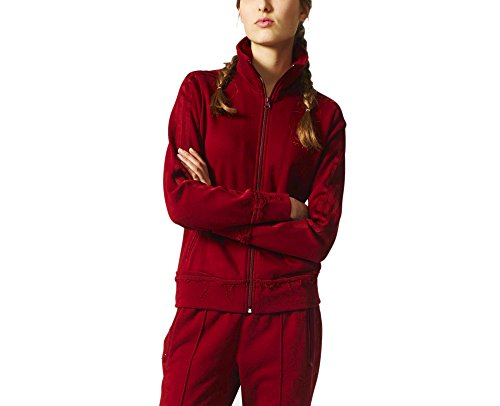 Firebird Track Top - adidas Originals Women Fleece Firebird Tracksuit Track Top Jacket BR9313 (M/L (EU 42)) Burgundy