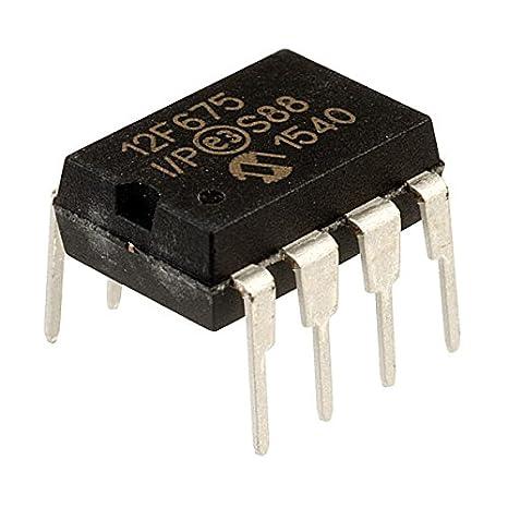 2pcs PIC12F675-I//P PIC12F675 12F675 DIP-8 Microcontroller CHIP IC