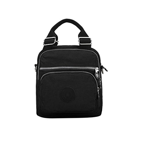 Bags Womens Waterproof Handbag Multifunctional Backpack Casual Small Yuncai Black BYcgvv