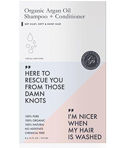 Shampoo & Conditioner Set (16oz x 2) w/