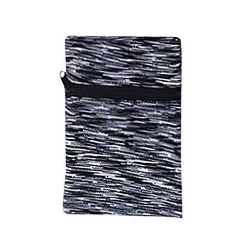 Wrist Band Zipper Ankle Wrap Sport Wrist Strap Wallet Storage- Pocket, Wrist/Ankle Wallet Pouch for Jogging, Sports, Walking-Wrist Band Zipper Ankle Wrap Sport Wrist Strap Wallet Storage (Black)