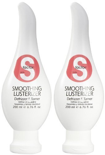 TIGI S Factor Smoothing Lusterizer, 6.76 oz, 2 pk